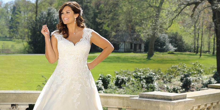 Xxl Brautkleid Traumhafte Hochzeitskleider Fur Mollige Braute Gr
