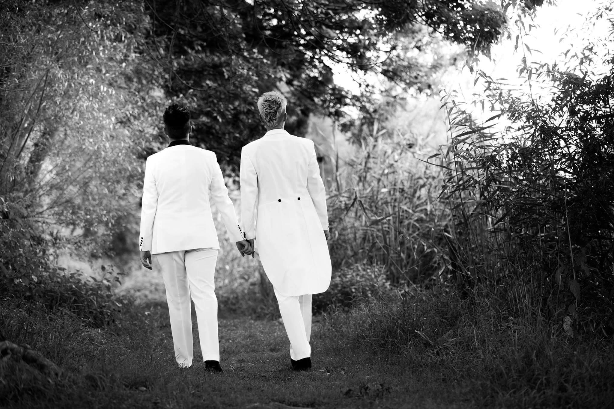 Homo Ehe Hochzeitsmode